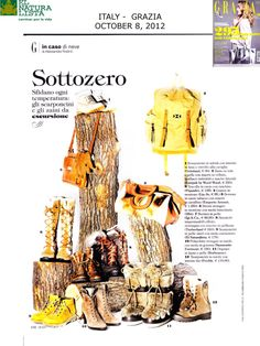El Naturalista featured in Italian Grazia