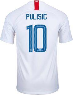 31f2b1c9b 2018 19 Nike USA Christian Pulisic Home Jersey. At SoccerPro now. Us Soccer