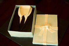 Men's Suit Cake