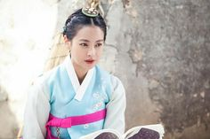 [My Sassy Girl] Korean Drama Oh Yeon Seo, Korean Traditional, Traditional Outfits, Cute Korean, Korean Girl, My Sassy Girl, Korean Drama Series, Korean Hanbok, Blue Vests