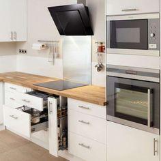 Best Of Facade Cuisine Ikea Metod Small Kitchen Cabinets, New Kitchen, Kitchen Decor, Interior Design Kitchen, Home Deco, Home Kitchens, Kitchen Remodel, Sweet Home, House Design
