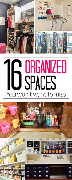 Organize your bathroom, desk, pantry, garage and so much more with the top 16 organizing ideas of 2015 from Polished Habitat.