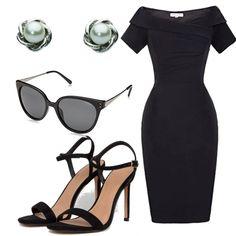 #outfits caty Hot Dress, Love S, Smart Casual, Rihanna, Work Wear, Asos, Classy, Sandals, Heels