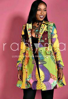 Kelly Trench Coat Dress. African print Trench Coat Dress. Pleated Coat with side pockets. Ankara | Dutch wax | Kente | Kitenge | Dashiki | African print dress | African fashion | African women dresses | African prints | Nigerian style | Ghanaian fashion | Senegal fashion | Kenya fashion | Nigerian fashion | Ankara crop top (affiliate)