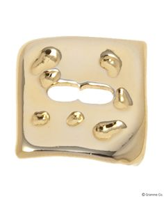 Cheese Charm (YellowGold)