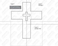 Esta plantilla está dirigida a un tablero de tamaño en 12 w x 14 h.  Plantilla puede ser grabada y centrada a bordo. ¡El clavo a través del papel y rasgar papel hacia fuera cuando haya terminado!  Descarga digital proporciona tres archivos para imprimir en papel de 8.5 x 11.  Configuración de la impresora debe ser modo landscape y imprimir como tamaño real no ajustar a página.