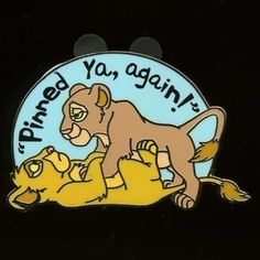 Simba and Nala pinned ya again...got it!