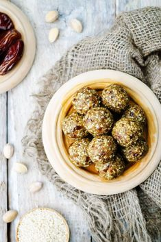 Pistachios are great for you and once you read why, chances are, you'll add them to your shopping list.  You will love Pistachio Sesame Bliss Balls. YUMMY!