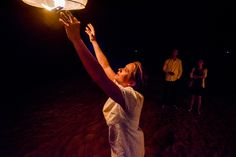paper lanterns, paros, beach lanterns