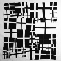 black and white pieces all together. i think i will add more so it is larger. #patchwork #sew #sewing | Flickr - Photo Sharing!