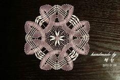 Bobbin lace doily