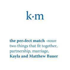 """""""The Perfect Match"""" Dictionary Cards Indigo Blue (24)"""
