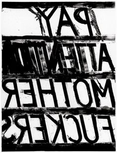 Bruce Nauman, Pay Attention, 1973