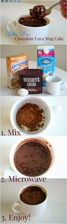 Gluten Free Dessert in 50 seconds.  This would be a cute tea party dessert for those who don't drink hot tea. ;)