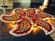 beautiful rangoli