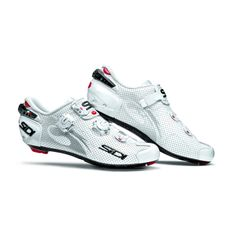 Sidi Wire Vent Carbon Women's White Vernice- The NEW Wire is pure performance with zero compromise, SIDIs latest go-to shoe for WorldTour athletes and pros everywhere. Wire features an ALL NEW Tecno 3 closure system utilizing an exceptional. Road Cycling Shoes, Cycling Wear, Cycling Bikes, Cycling Outfit, Cycling Cleats, Bike Wear, Cycling Equipment, Road Bikes, Zapatillas Sidi Mtb