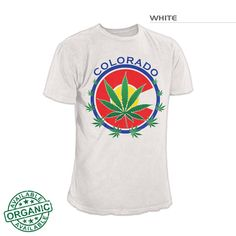 Colorado Flag Pot | Colorado Pot TShirt |Colorado 420 T-Shirt – Fearless State