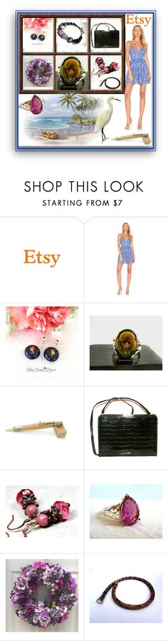 """""""E-T-S-Y"""" by sylvia-cameojewels ❤ liked on Polyvore featuring NBD and vintage"""