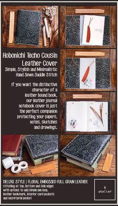 $65 + | R.atelier Hobonichi Cousin A5 | Leather Journal Cover #HobonichiTecho #HobonichiCousin #A5Size #leathercover #leatherjournal #leathergifts #hobonichicover #journaling #journallove #planner #plannerlove #planneraddict #giftsforher #giftsforhim #ほぼ日手帳