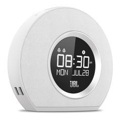 JBL - Radio-réveil Bluetooth avec chargeur USB et lumière ambiante