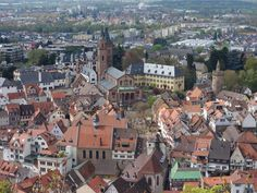 Windeck Castle (great view over the town) - Weinheim, Germany