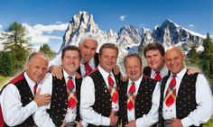 Die Kastelruther Spatzen kommen am Freitag, 29. Mai, nach Hofgeismar.