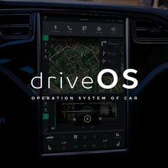 """查看此 @Behance 项目:""""Operation system of a car""""https://www.behance.net/gallery/44474811/Operation-system-of-a-car"""