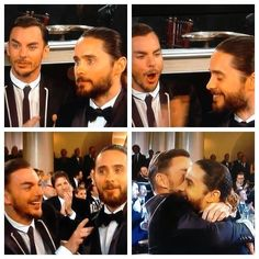 The Leto Bros reaction to Jared Leto's Golden Globe Win for Best Supporting Actor