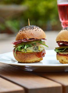 Minis burger - Plus une miette