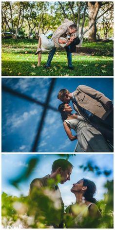Vibrant and artistic engagement photography, Montas Photography, via Aphrodite's Wedding Blog