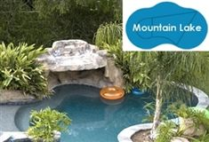 Complete 20'x33' Mountain Lake In Ground Swimming Pool Kit with Steel Supports at SaferWholesale.com