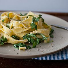 lemon, arugula & ricotta summer pasta