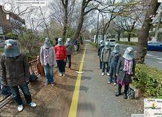 Así trollean a Google Street View en Japón