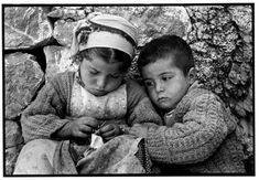 Constantine Manos Sister and Brother, Olympos, Island of Karpathos, Greece 1964 Greece Photography, Camera Photography, Street Photography, Photographs Of People, Vintage Photographs, Fotojournalismus, Most Beautiful Words, Photographer Portfolio, Famous Photographers