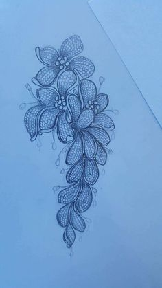 Embroidery Motifs, Silk Ribbon Embroidery, Hand Embroidery Designs, Jewelry Design Drawing, Jewelry Illustration, Jewellery Sketches, Fabric Jewelry, Jewelry Patterns, Henna Designs