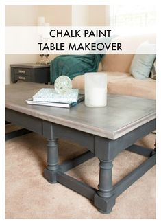 Annie Sloan Chalk Paint® Table Makeover