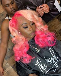 Wigs For Black Women Blonde Highlights Yaki U Part Wig Blue Hair Bob H – datestal Baddie Hairstyles, Pretty Hairstyles, Colored Weave Hairstyles, Curly Hair Styles, Natural Hair Styles, Gorgeous Hair Color, Barbie Hair, Hair Laid, Lace Hair