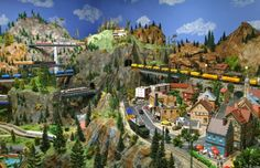 Model Railway – Go and see the biggest little European Railway in Canada