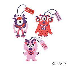 Monster Valentine Ornament Craft Kit