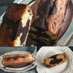 #Marbrer #Noisettes #Chocolat #Pâtisserie #cake #Gâteau #Gourmandise