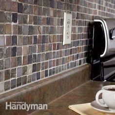 For the more ambitious homeowner, add beauty and value to your home with a personalized tile backsplash in a kitchen or bathroom. Here is a step by step article on how to tackle a smaller tiling project on your own.  **For larger tile jobs, we would definitely recommend hiring a professional to ensure quality.**