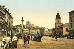 Early 1900 Warsaw postcard