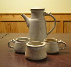 DEAL OF WEEK Vintage Teapot Coffee Pot Mugs Sugar by PanchosPorch