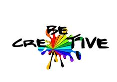 be creative - start right now!