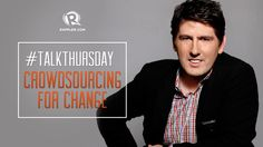 How does technology alter the way crowdsourcing works? Rappler talks to Epirot Ludvik Nekaj, founder and CEO of Crowdsourcing Week Change