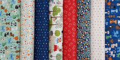 Makower Crafty Cats by Henley Studio -  purr-fect sewing-inspired collection. Whether it's playing hide and seek in a fabric stash or lazing in the garden, cats know how to have fun!