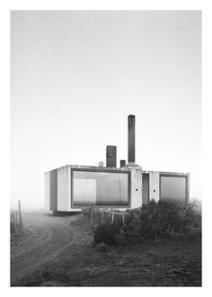 "bayerklemmer: ""David Klemmer Architect - House with three chimneys - Balearen (2016) """
