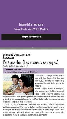 Modena: alla Tenda la settimana comincia con un film e due mostre