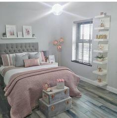 Modern Bedroom Design Trends and Ideas in 2019 Part bedroom ideas; bedroom ideas for small room; Bedroom Decor For Teen Girls, Cute Bedroom Ideas, Room Ideas Bedroom, Home Decor Bedroom, Bedroom Inspo, Bedroom Ideas For Small Rooms Women, Teen Bedroom, Nursery Decor, Room Design Bedroom