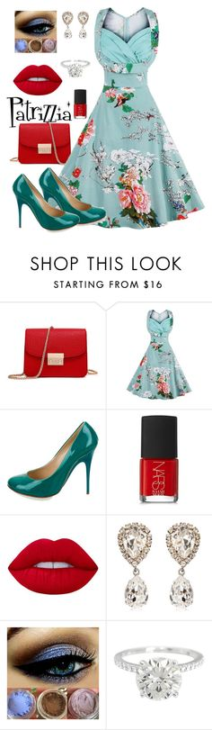 Patrizzia10.12.2016a by patrizzia on Polyvore featuring moda, Giuseppe Zanotti, Dolce&Gabbana, Lime Crime and NARS Cosmetics